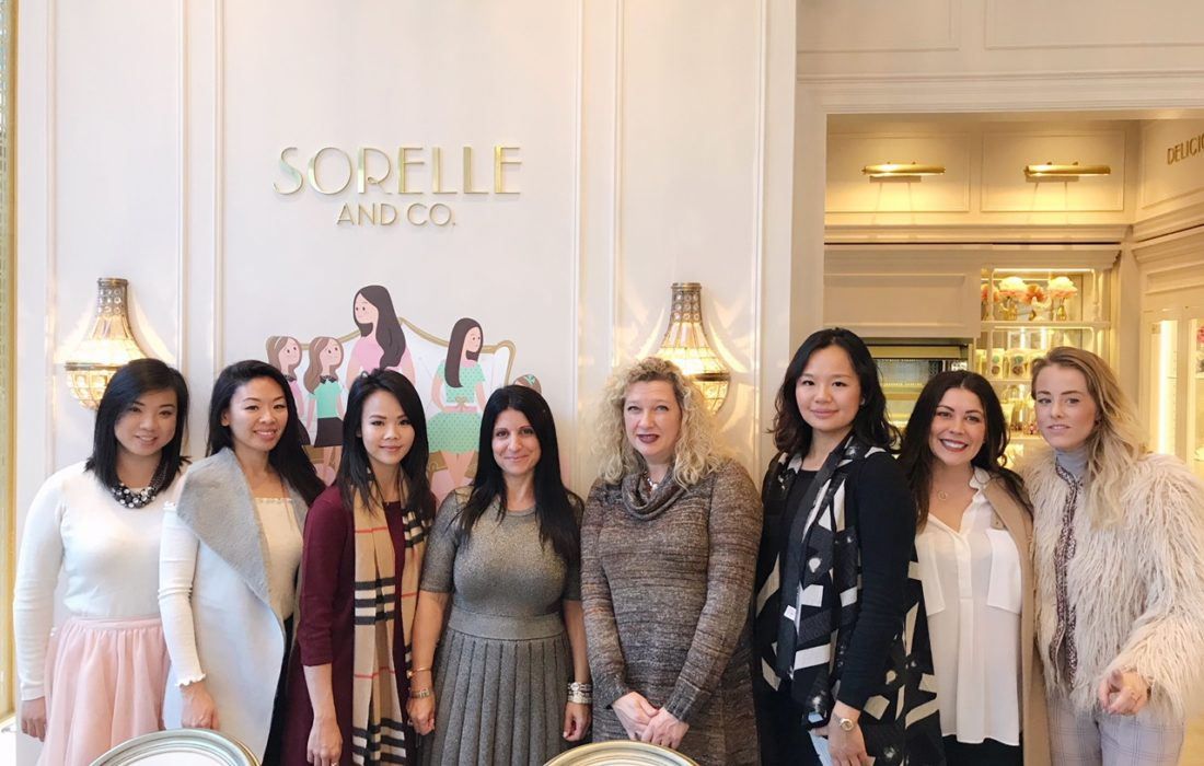 Sorelle and Co. Yorkville Grand Opening